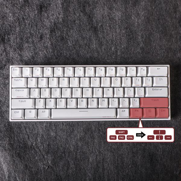 Anne Pro 2: Arrow Keys on Keyboard via Tap Mode